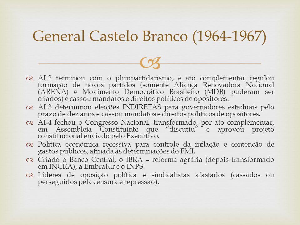 General Castelo Branco (1964-1967)