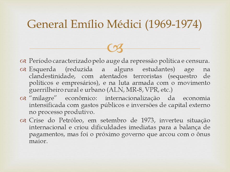 General Emílio Médici (1969-1974)