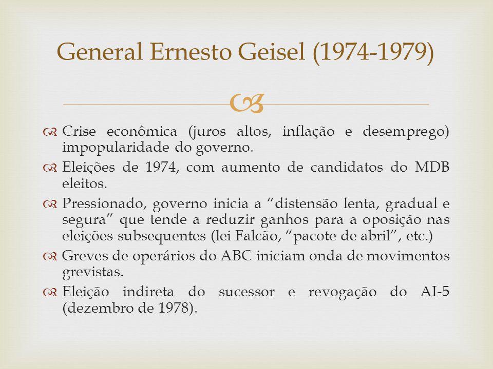 General Ernesto Geisel (1974-1979)