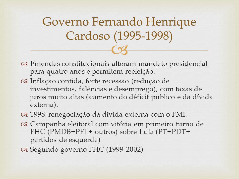 Governo Fernando Henrique Cardoso (1995-1998)