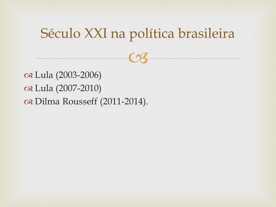 Século XXI na política brasileira