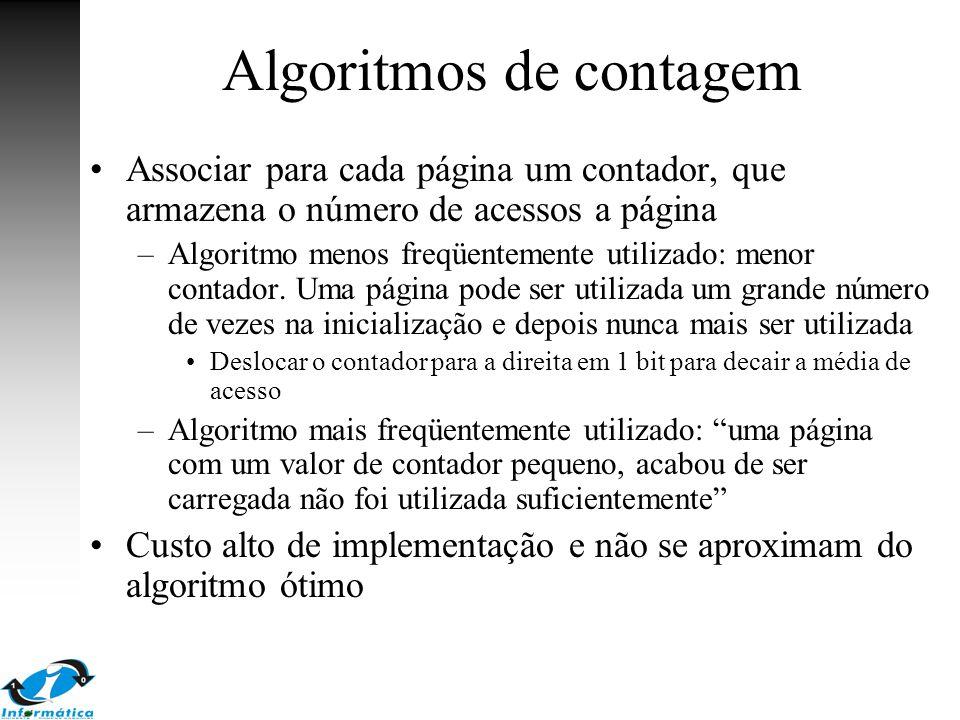 Algoritmos de contagem