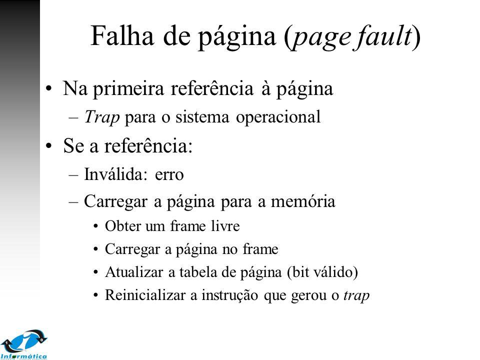 Falha de página (page fault)