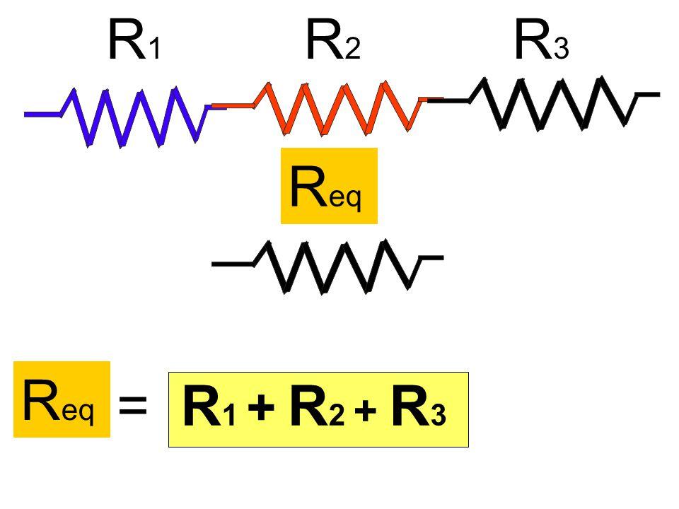 R1 R2 R3 Req Req = R1 + R2 + R3