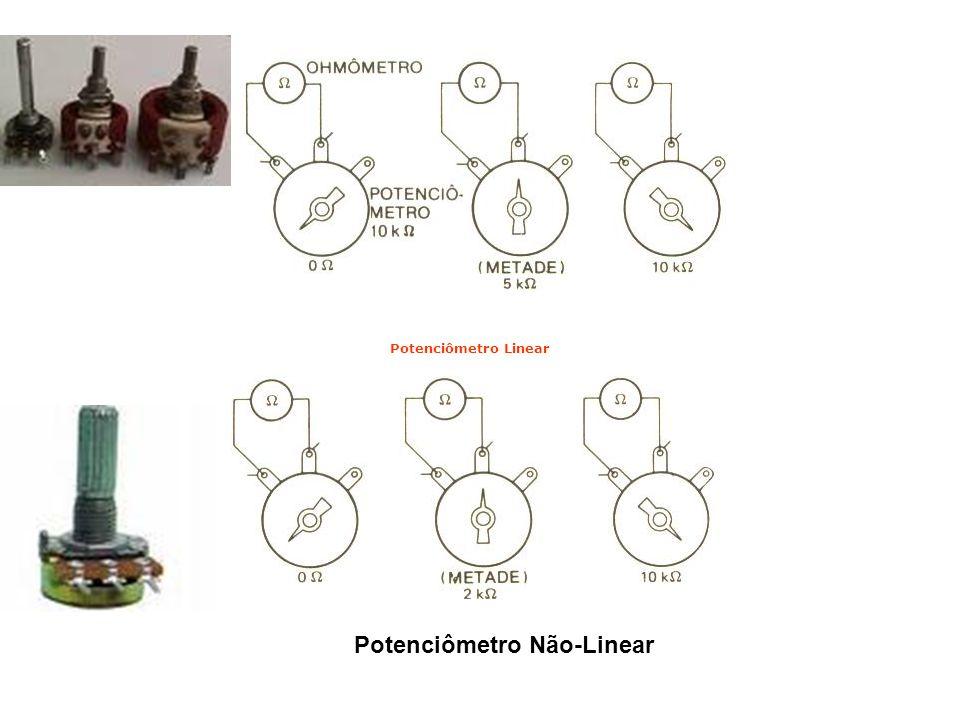 Potenciômetro Não-Linear