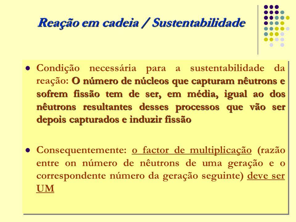 Reação em cadeia / Sustentabilidade