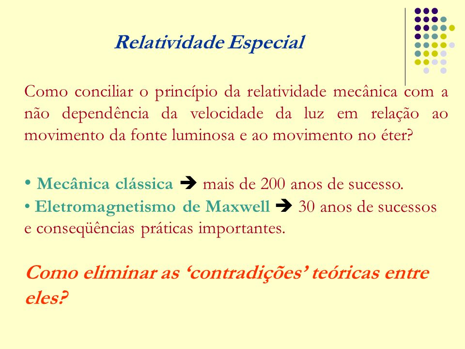 Relatividade Especial
