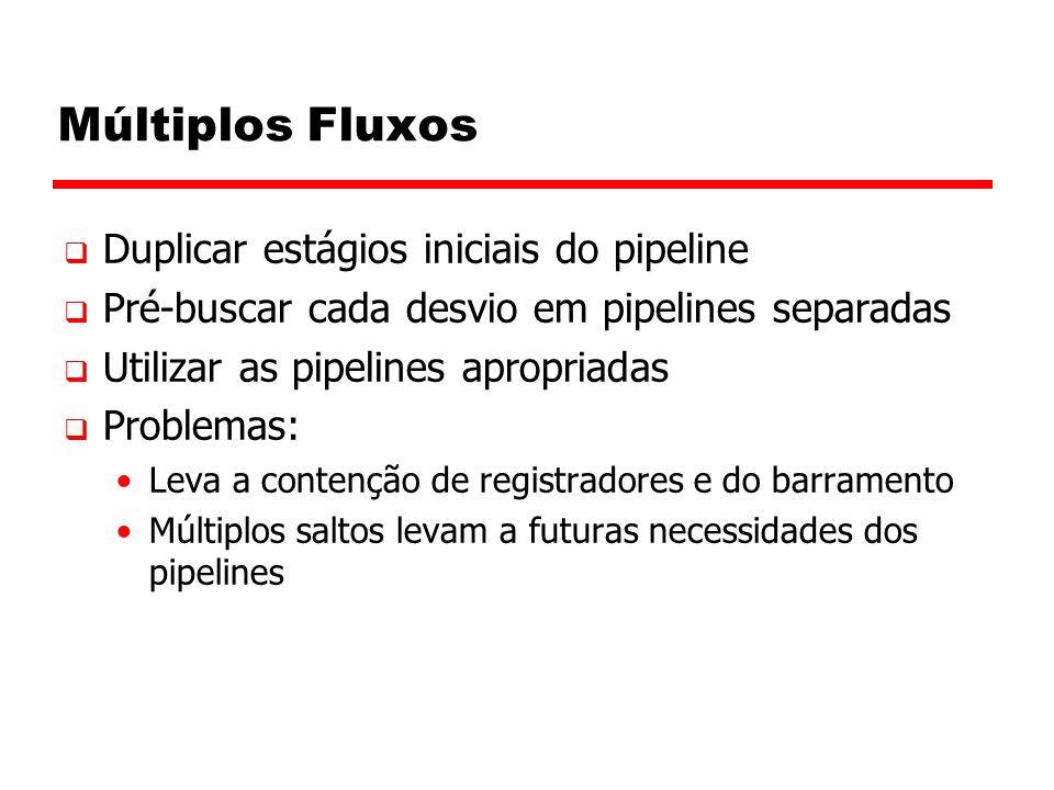 Múltiplos Fluxos Duplicar estágios iniciais do pipeline