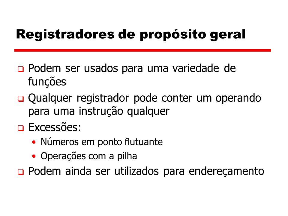 Registradores de propósito geral