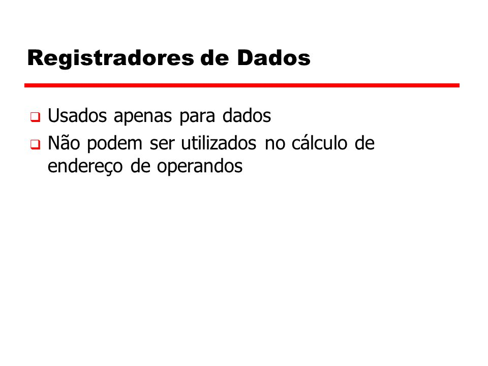 Registradores de Dados