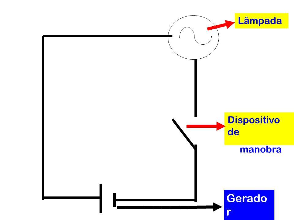 Lâmpada Dispositivo de manobra Gerador elétrico