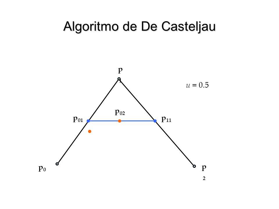 Algoritmo de De Casteljau