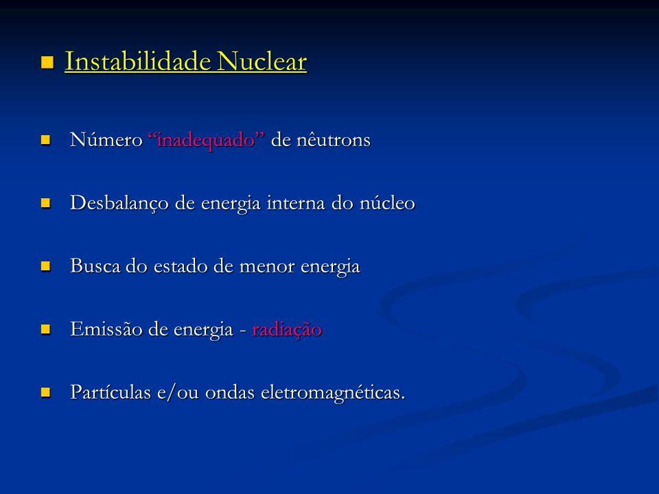 Instabilidade Nuclear