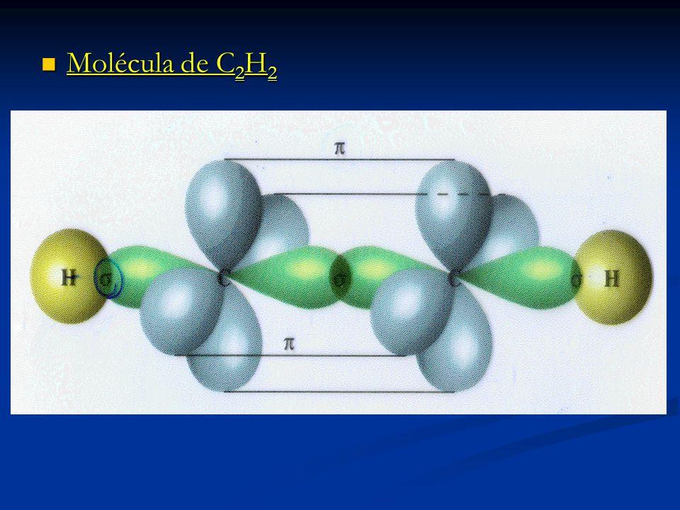 Molécula de C2H2