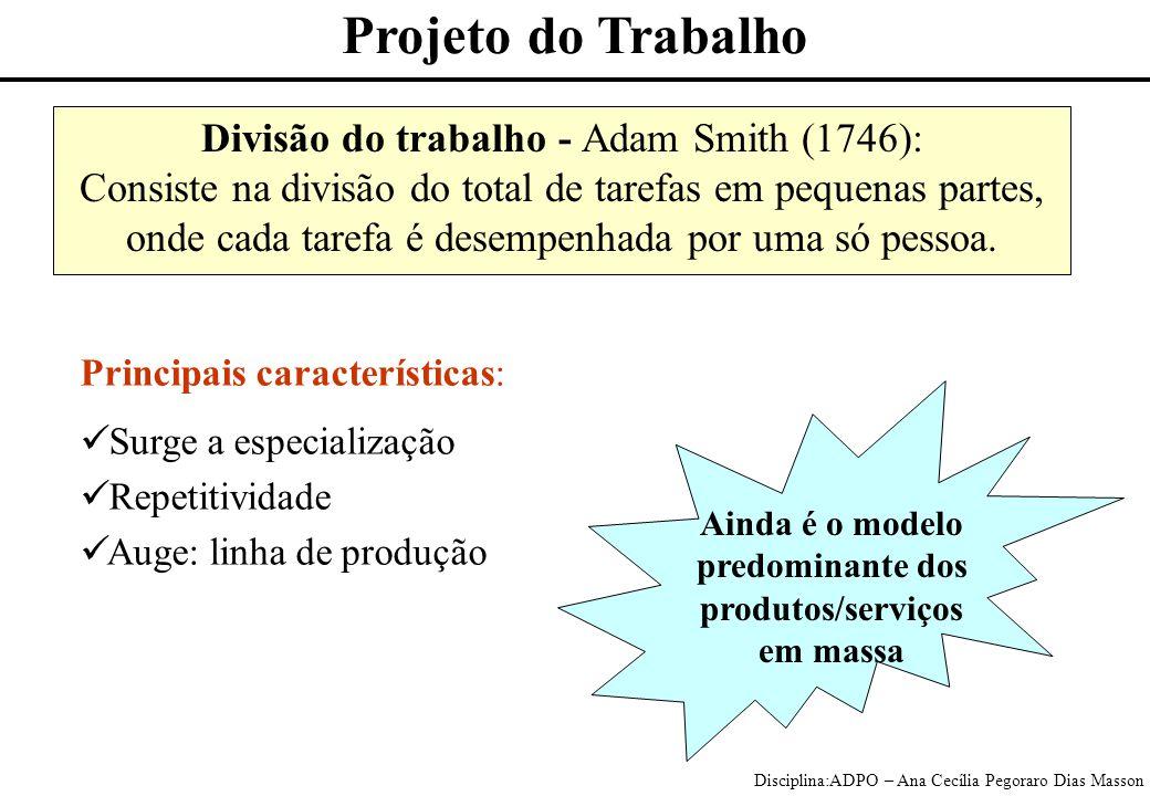 predominante dos produtos/serviços