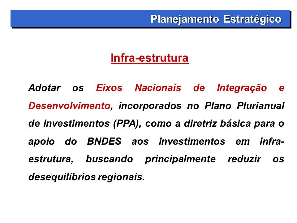 Infra-estrutura Planejamento Estratégico