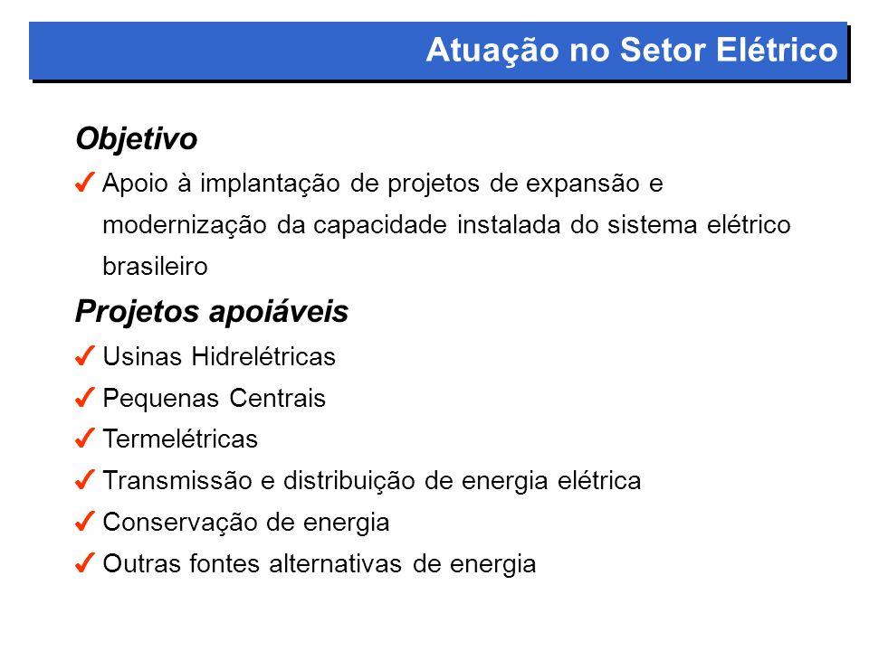 Atuação no Setor Elétrico