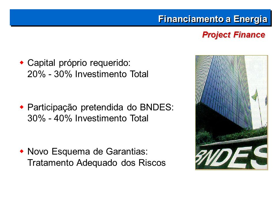 Financiamento a Energia