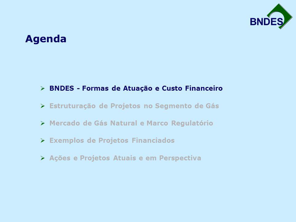 Agenda BNDES - Formas de Atuação e Custo Financeiro