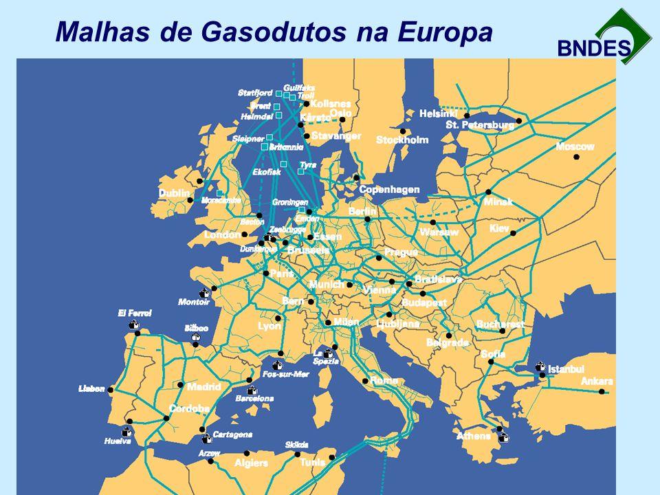 Malhas de Gasodutos na Europa