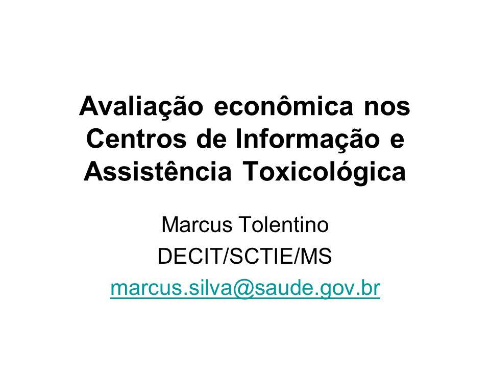 Marcus Tolentino DECIT/SCTIE/MS marcus.silva@saude.gov.br
