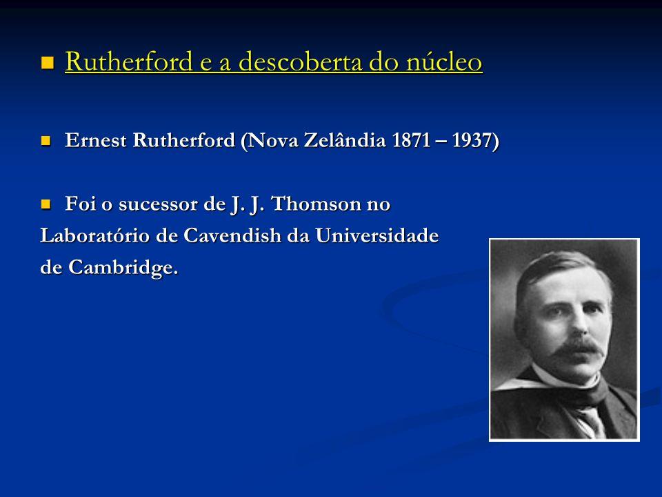 Rutherford e a descoberta do núcleo