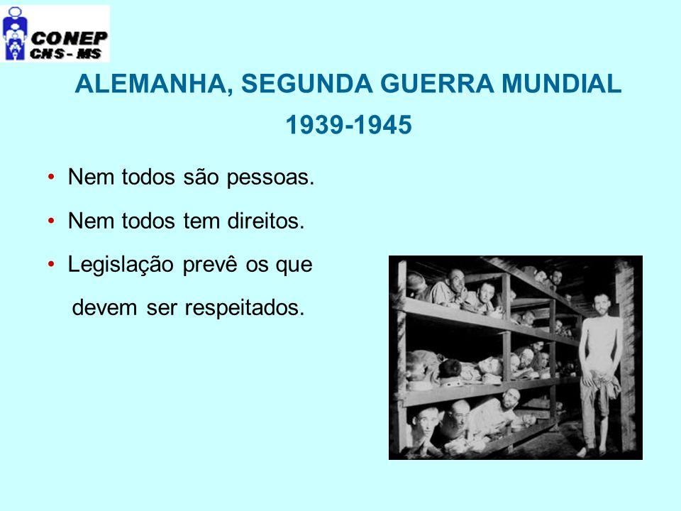 ALEMANHA, SEGUNDA GUERRA MUNDIAL 1939-1945