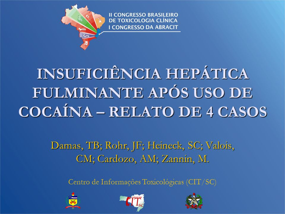 Damas, TB; Rohr, JF; Heineck, SC; Valois, CM; Cardozo, AM; Zannin, M.