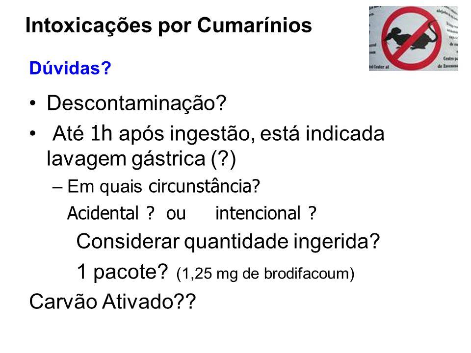 Intoxicações por Cumarínios