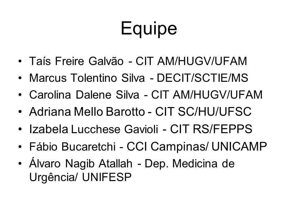 Equipe Adriana Mello Barotto - CIT SC/HU/UFSC
