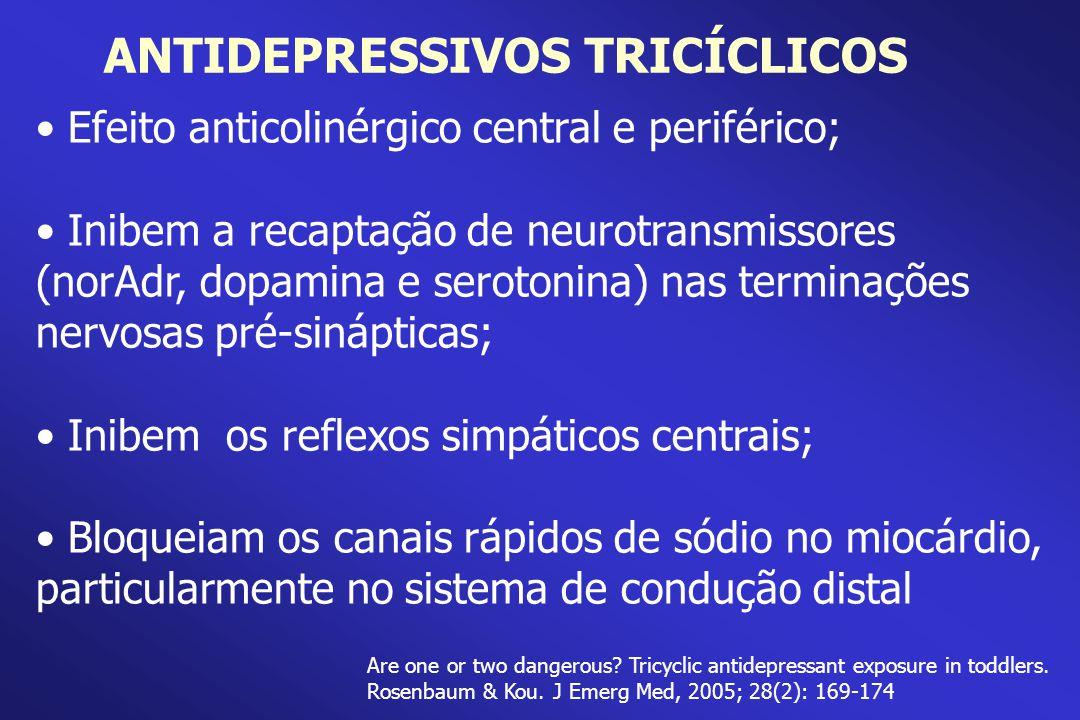 ANTIDEPRESSIVOS TRICÍCLICOS