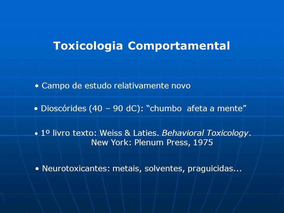 Toxicologia Comportamental