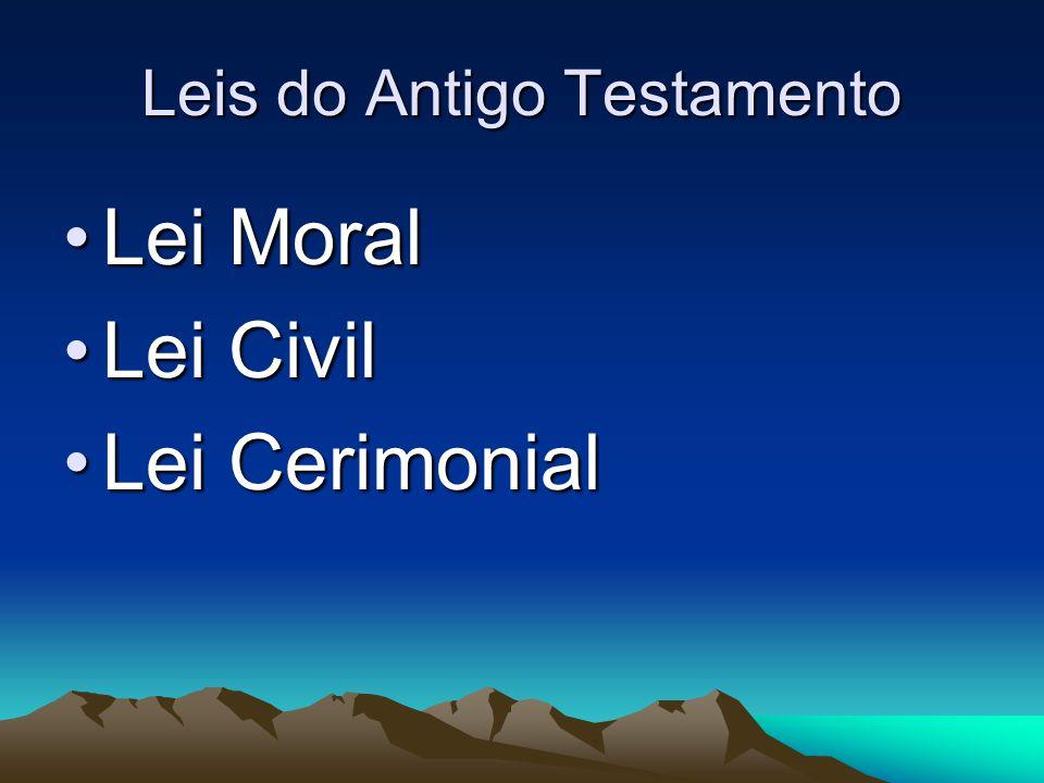 Leis do Antigo Testamento