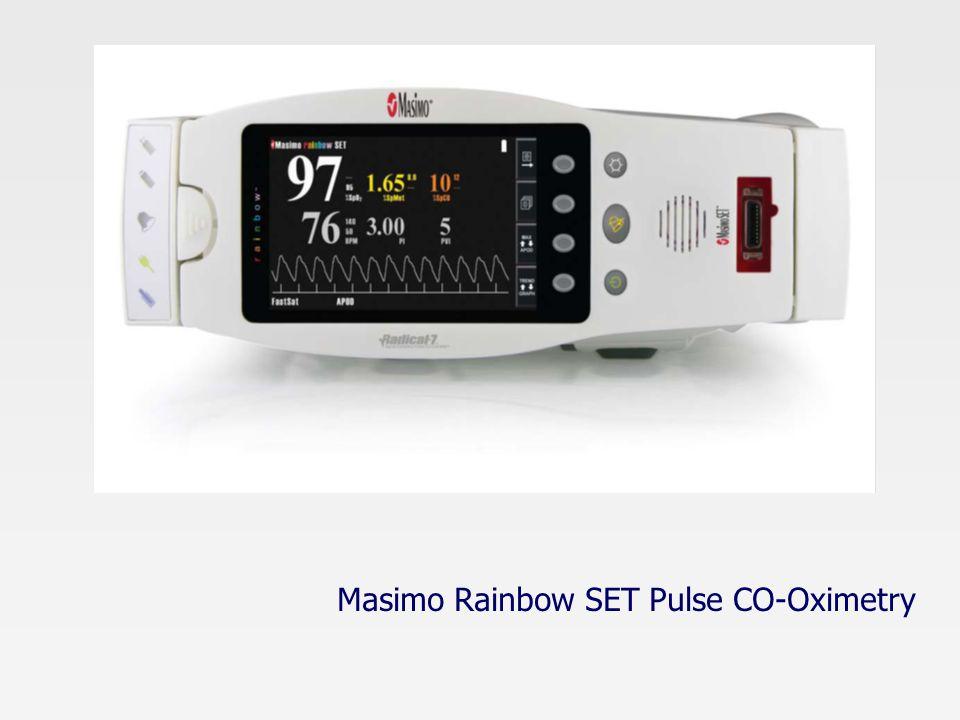 Masimo Rainbow SET Pulse CO-Oximetry