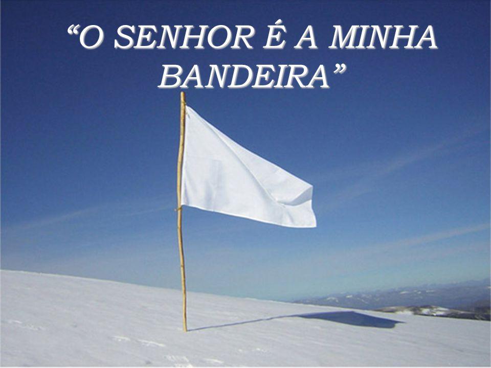 O SENHOR É A MINHA BANDEIRA