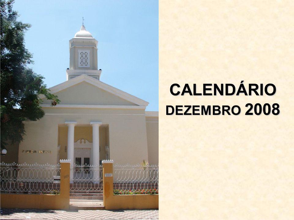 CALENDÁRIO DEZEMBRO 2008