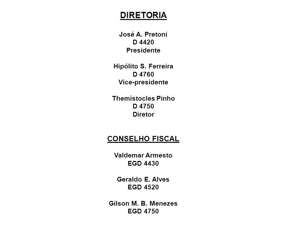 DIRETORIA CONSELHO FISCAL José A. Pretoni D 4420 Presidente