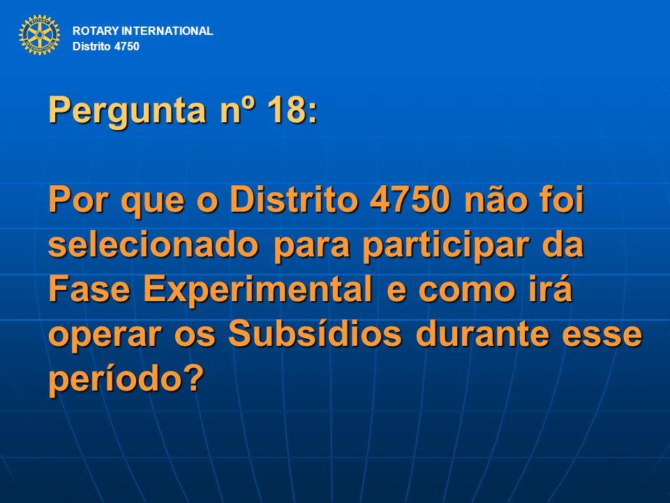 ROTARY INTERNATIONAL Distrito 4750.