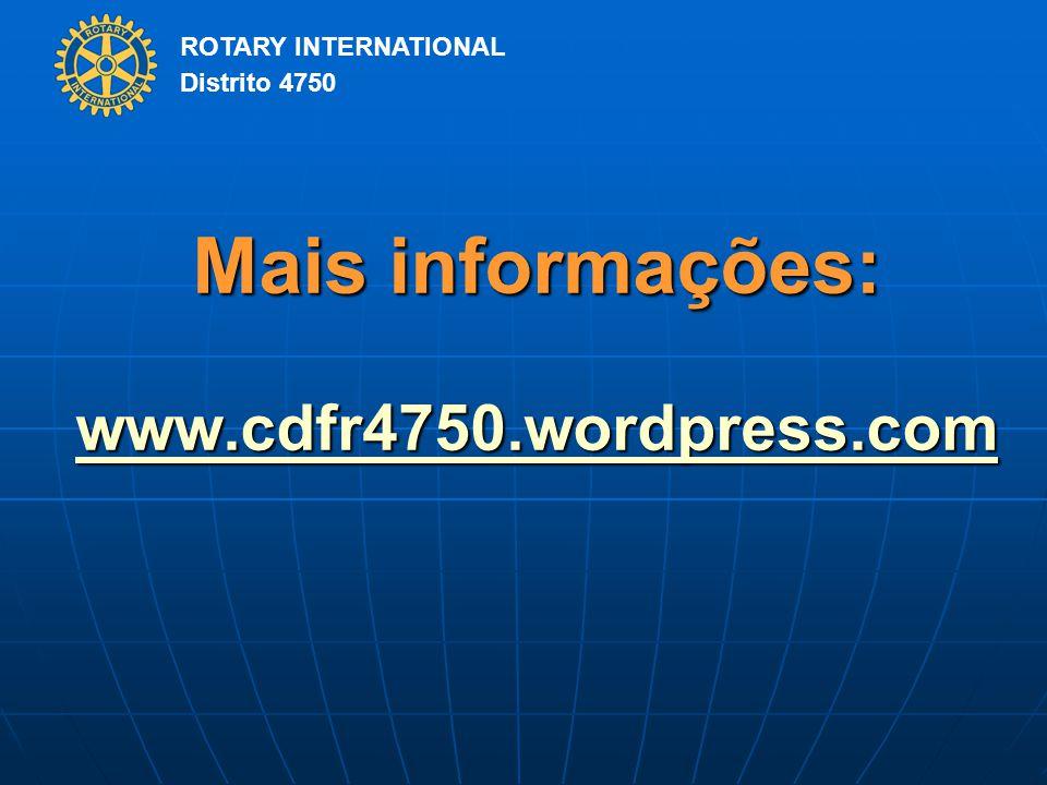Mais informações: www.cdfr4750.wordpress.com