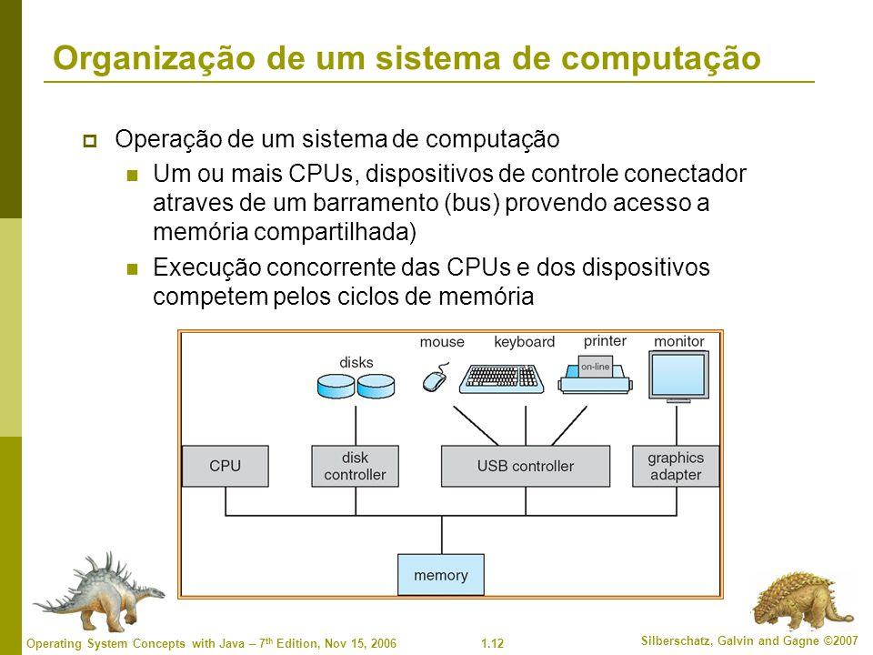 Organização de um sistema de computação