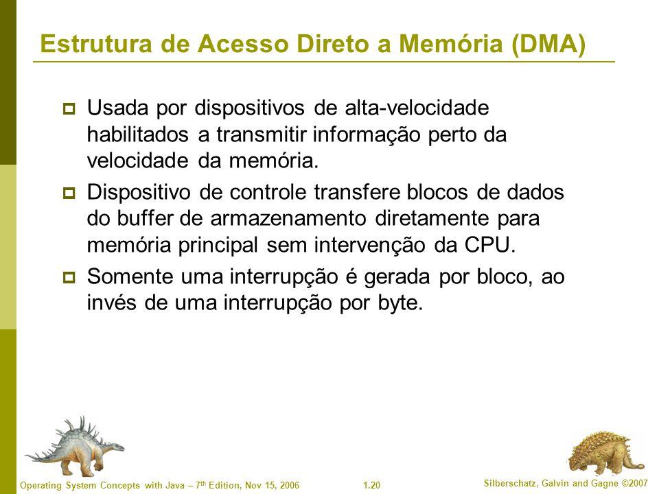 Estrutura de Acesso Direto a Memória (DMA)