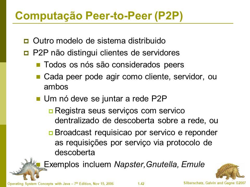 Computação Peer-to-Peer (P2P)