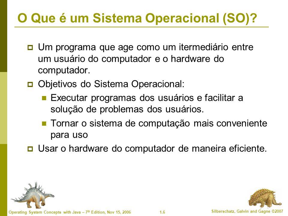 O Que é um Sistema Operacional (SO)