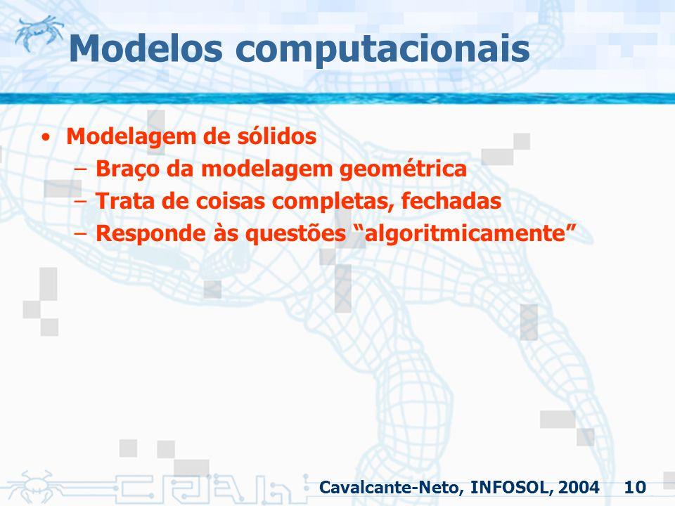 Modelos computacionais