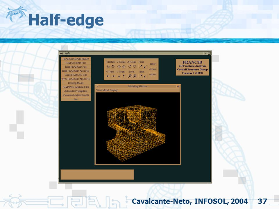 Half-edge Cavalcante-Neto, INFOSOL, 2004