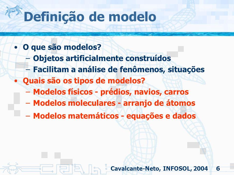 Definição de modelo O que são modelos