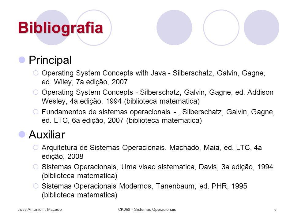 CK069 - Sistemas Operacionais