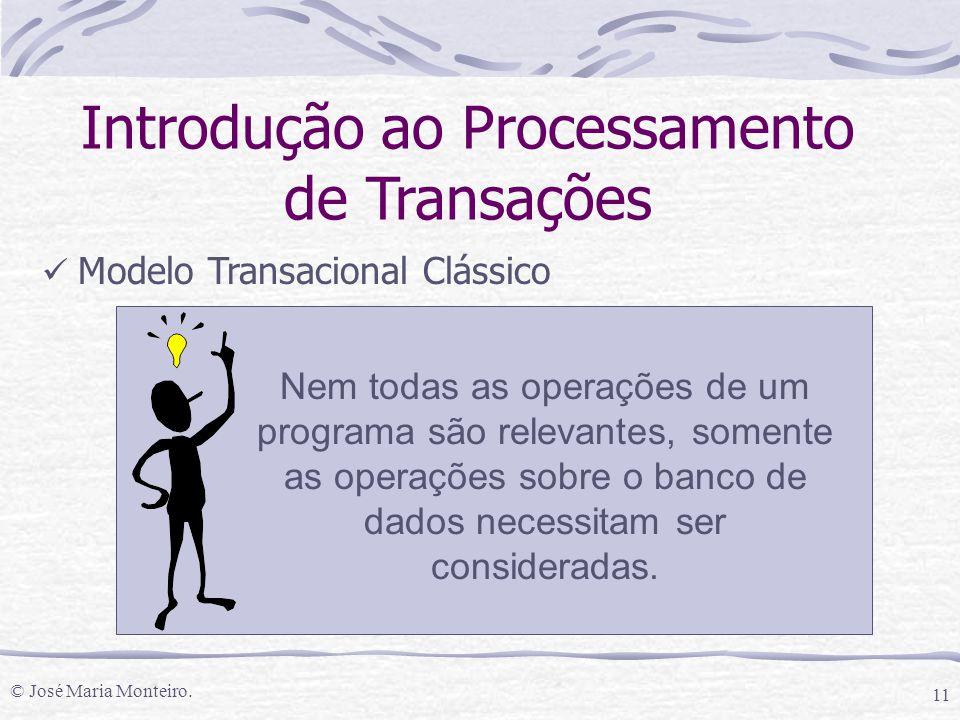 Introdução ao Processamento de Transações