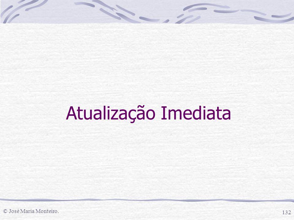 Atualização Imediata © José Maria Monteiro.