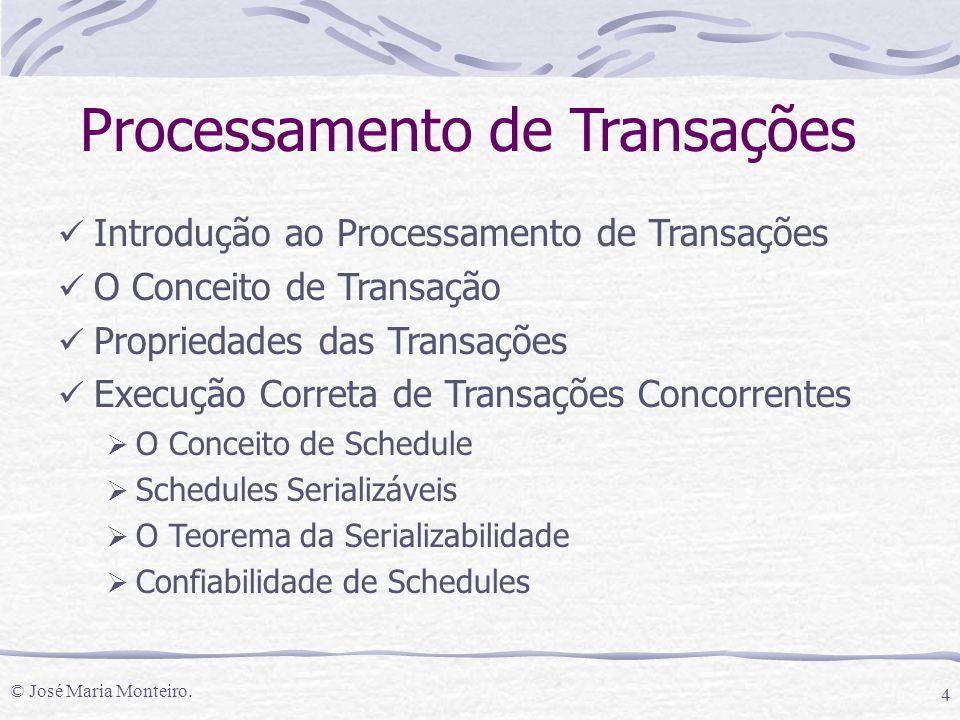 Processamento de Transações